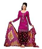 Miraan Women's Cotton Unstitched Salwar ...