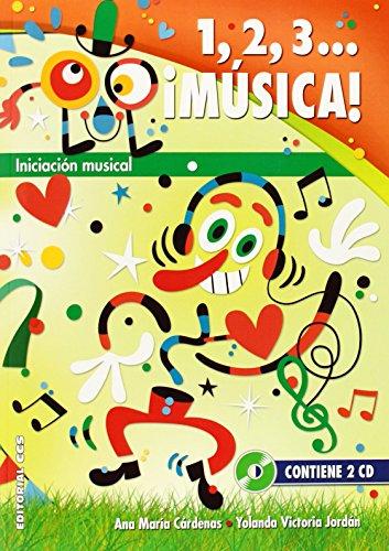 1,2,3... ¡Música!: Iniciación musical (Pentagrama) por Ana María Cardenas Lafuente