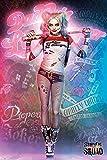 Unbekannt Poster Suicide Squad - Harley Quinn Stand - preiswertes Plakat, XXL Wandposter