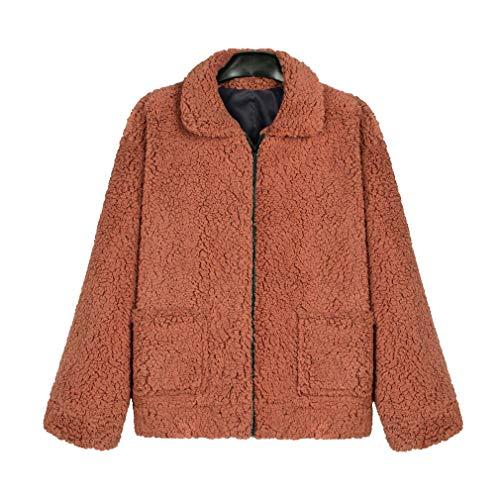 Faux fur cappotto lungo casuale oversize manica lunga da donna chunky maglione del capo per la festa di natale