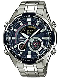 Casio Edifice – Herren-Armbanduhr mit Analog/Digital-Display und Edelstahlarmband – ERA-600D-1AVUEF