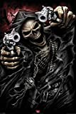 1art1 61696 Poster Gothique Grande Faucheuse Assassin Armé Jusqu'aux Os Spiral 91 x 61 cm...
