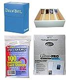 Karten-Organisierung - Riesen Deck-Box + 50 9-Pocket-Seiten + Ultra Pro Deck-Box + 1.000 Hüllen!