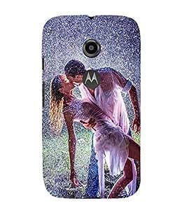 PrintVisa Boy Kiss Girl 3D Hard Polycarbonate Designer Back Case Cover for Motorola Moto E2 :: Motorola Moto E Dual SIM 2nd gen :: Motorola Moto E 2nd Gen 3G XT1506 :: Motorola Moto E 2nd Gen 4G XT1521