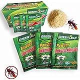 HomeyNeeds 10 Packs Green Leaf Powder Cockroach Pest Control