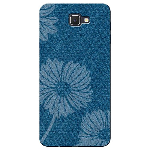 SHAIVYA Denim Flower Silicone Rubber Finished TPU Printed Back case Cover for...