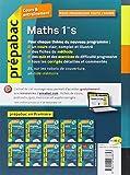 Image de Maths 1re S - Prépabac Cours & entraînement: Cours, méthodes et exercices - Première S