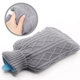 Borsa dell'acqua calda, Samione Gomma Premium Hot Water Bottle...