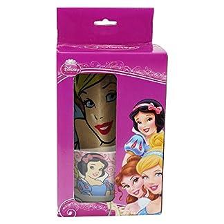 Disney Princesas Juego de Tazón y Mantel Idea Regalo Desayuno
