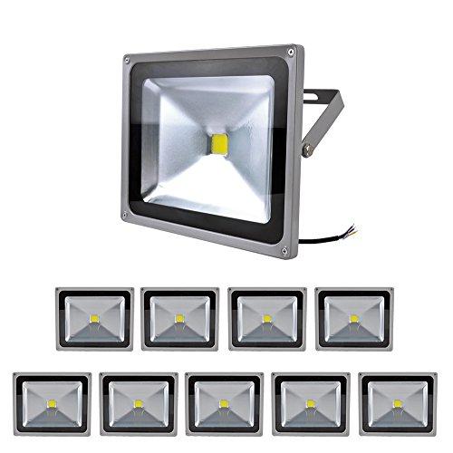 10 XProjecteur de 50W LED / spotlight
