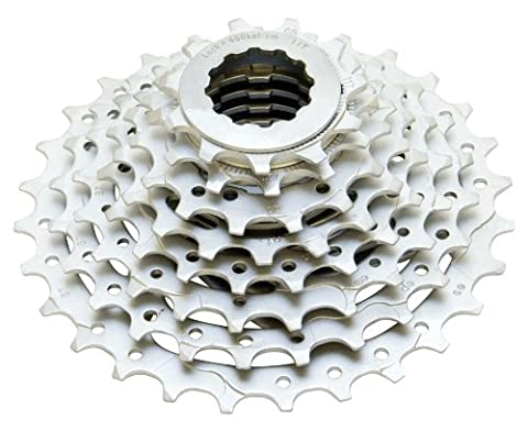 ETC 11/34T Stl Cp Cassette - Silver, 7 Speed
