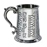 Löffeltasse mit Namen Christina - Motiv Verrücktes Einhorn - Namenstasse, Kaffeebecher, Mug, Becher, Kaffeetasse - Farbe Blau 6