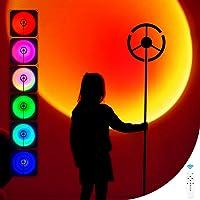 YaoDgFa Sonnenuntergang Lampe, Farbwechsel Regenbogen Projektor LED Licht, Rainbow Sunset, 180 Grad Drehung mit USB, für…