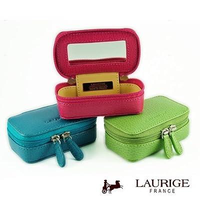 LAURIGE DURON - Boîte de poche en cuir pour sac à main ou voyage