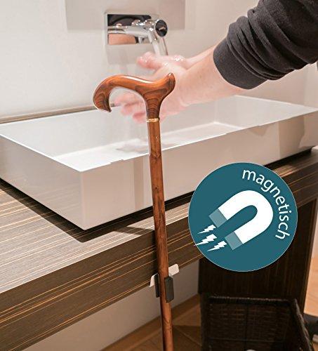 Magnetisches Stockhalter-Set von SALJOL für Krücken und Gehstöcke