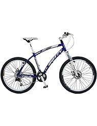 """Gotty - Bicicleta de montaña 26"""" CRH, color azul"""