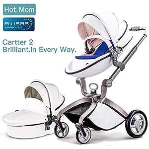 Hot Mom passeggino per bambini Bianco,2018