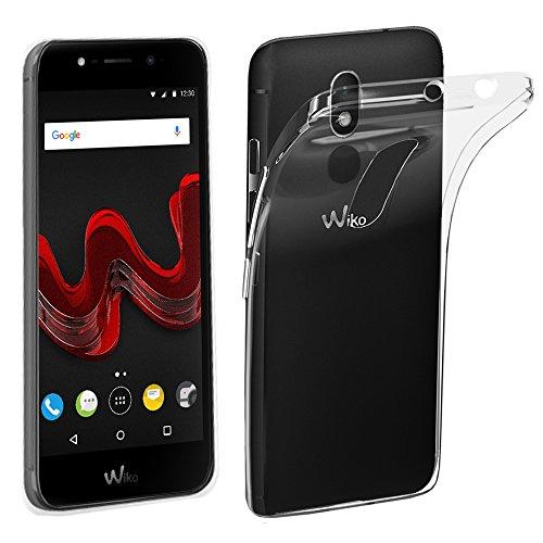 ebestStar - Wiko Wim Lite Hülle Handyhülle [Ultra Dünn], Premium Durchsichtige Klar TPU Schutzhülle, Soft Flex Silikon, Transparent [Phone: 144 x 71.7 x 8.75mm, 5.0'']