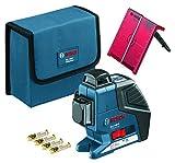 Bosch Professional Linienlaser GLL 3-80 P mit Schutztasche, 1 Stück, 0601063305