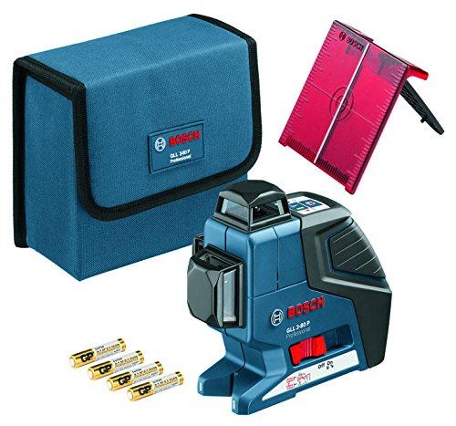Preisvergleich Produktbild Bosch Professional Linienlaser GLL 3-80 P mit Schutztasche, 1 Stück, 0601063305