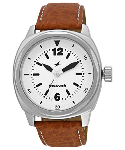 516rLiJgNsL - 3076SL03 Fastrack Silver watch