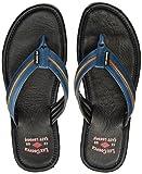 LEE COPPER Men's Blue Hawaii Thong Sandals - 8 UK/India (42 EU)(LC1992)
