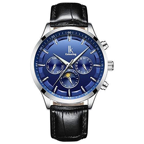 Haonb Herrenuhren Vollautomatische Mechanische Uhren Wasserdicht Kommerziellen Jinggang Mode Uhren, F - Kommerziellen Stil Edelstahl