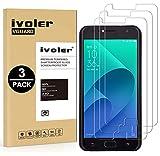 iVoler [Pack de 3] Verre Trempé pour ASUS Zenfone 4 Selfie ZD553KL 5.5 Pouces, Film Protection en Verre trempé écran Protecteur...