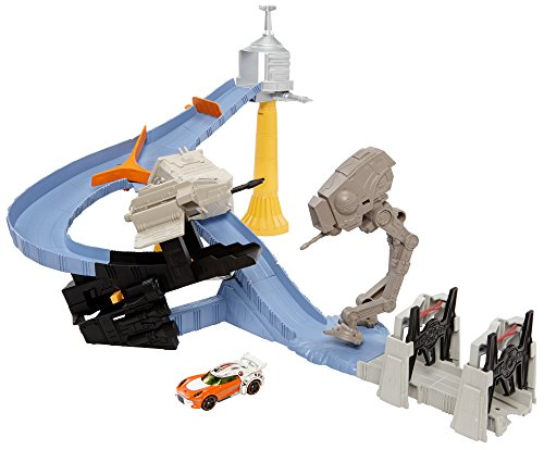 Hot Wheels Star Wars TIE Factory Takedown Track Set