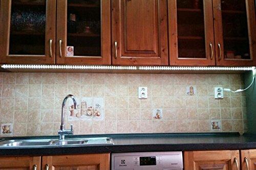 Stripe per cucina ufficio illuminazione led 230 v 5050 ip67
