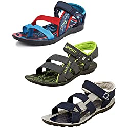 Tempo Men's Combo Pack of 3 Floaters Sandals-9