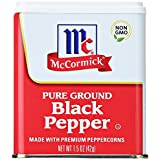Mc Cormick Pure ground Black pepper - pepe americano 42g