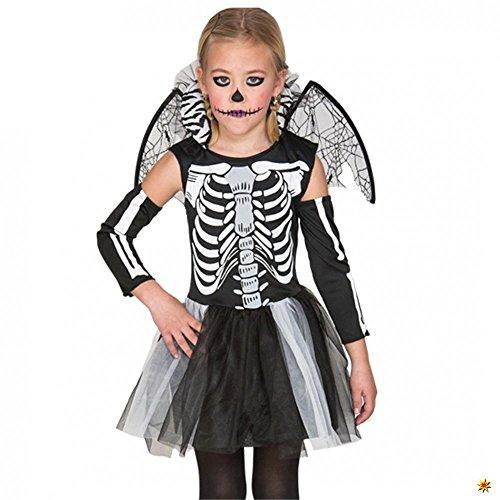 Imagen de disfraz de esqueleto niña 4 6 años  alternativa