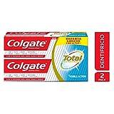 Colgate Total Visible Action Dentifricio, Protegge dai Batteri, 2 x 150 ml