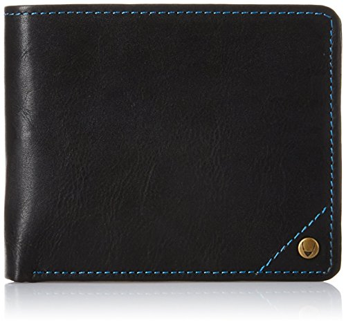 hidesign-angle-stitch-leather-slim-bifold-wallet-black
