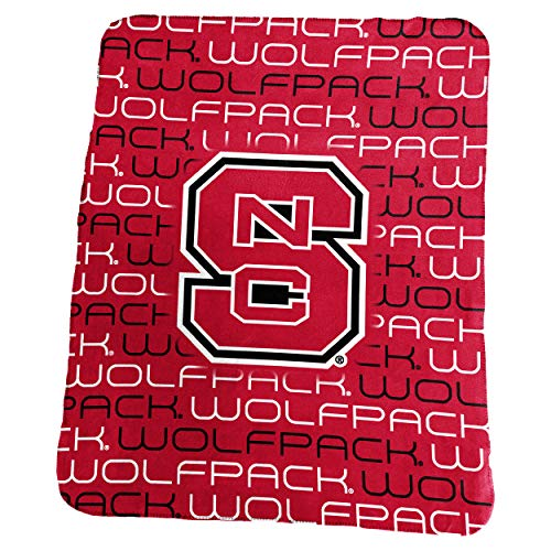 Logo Marken NC State Classic Fleece, Rot, One Size