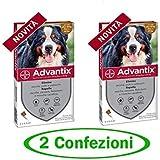 advantix Spot-ON per Cani Oltre 40 kg Fino a 60 kg - Offerta 2 Confezioni