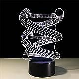 Lichtfernbedienung Des Lichtes 3D Bunte Führte Kreatives Produktgeschenk-Nachtlicht Des Lichtes