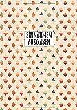 Einnahmen Ausgaben: Buch für mehr als 1300 Buchungen, Sowie Datum, Verwendunszweck, Summe...