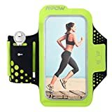 iPhone 6 / 6S Armband, Mpow (4.7 inch) Running Sweat-Free Sport Armband Case Cover Phone Holder with Extra Adjustable-Length Extention Band & Key Slots Holder Pocket for iPhone 6 / 6S for Gym, Running, Jogging, Walking, Biking, Hiking, Workout and Exercise