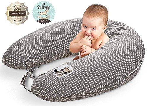 Sei Design Coussin d'allaitement de qualité,...