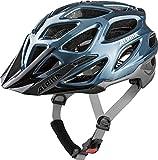 Alpina Unisex– Erwachsene Mythos 3.0 Fahrradhelm, Blue-Silver, 57-62 cm