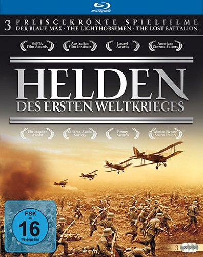 Helden des Ersten Weltkriegs - Preisgekrönte Spielfilme [Blu-ray, 3 Discs] Ascot Music Box