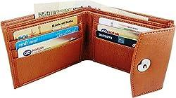 Wenzest Tan Mens Designer Wallets