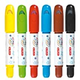 Herlitz 10671816 Kinder- Gelmalstifte bzw. Wachsmaler mit 6 verschiedenen Farben hergestellt von Herlitz