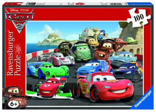 Image of Ravensburger Disney Cars 2 XXL Jigsaw Puzzle (100 Pieces)