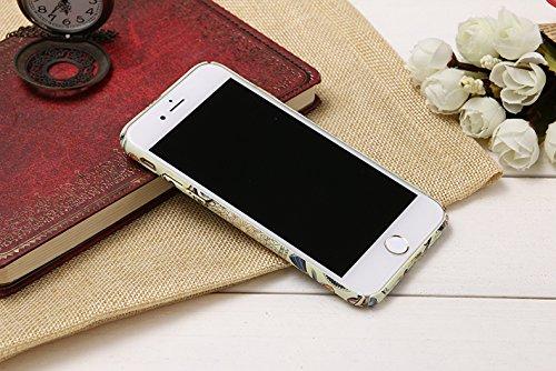 "iPhone 6s Handyhülle, Kreativ Mode Series CLTPY iPhone 6 [Ultra Hybrid] 3-Teilige Stylisch Extra Dünne Tough Plastic Schutz-etui mit Detachable Elektroplattiert metallrahme für 4.7"" Apple iPhone 6/6s  Anhänger"
