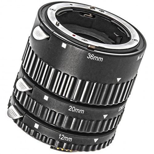 Meike Automatik Makro Zwischenringe kompatibel mit Nikon- mit Autofokus-Weiterleitung - MK-N-AF-B - Ring Antriebswelle