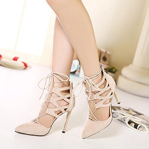 Hot Fashion Women Pumps Women Shoes Sandals Lace up High