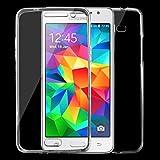 SCSY-case Modetelefonkasten Für Samsung Galaxy Grand Prime / G530 0.75mm Doppelseitige Ultra-dünne transparente TPU Schutzhülle